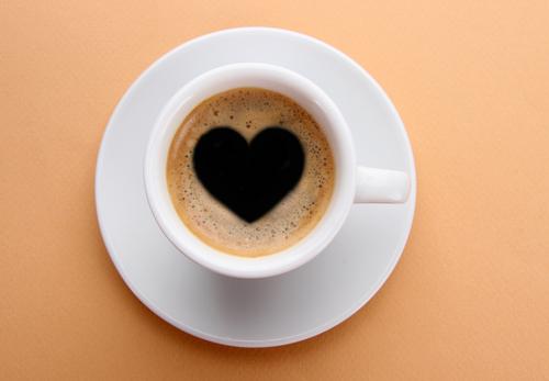 即効絶対に確実に連絡が来る待ち受けのコーヒーの中にハート