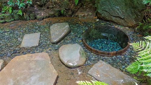厄除けに効く明治神宮の井戸の待ち受け画像