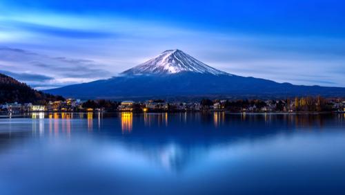開運に繋がる富士山の画像