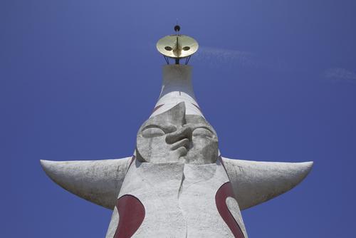 運気が上がる太陽の塔の待ち受け画像