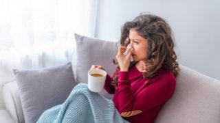 風邪とスピリチュアルの密接な関係。運気の代わり目は体調不良と関係している?