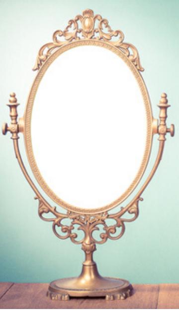 運気が上がる鏡の待ち受け画像