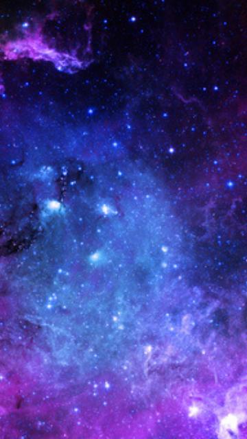 運気が上がる宇宙の待ち受け画像