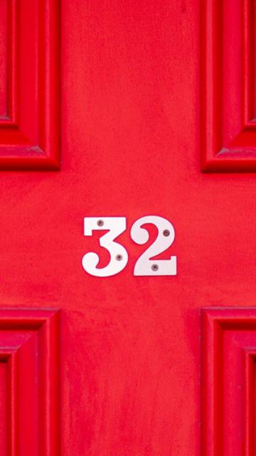 ラッキーナンバー32の待ち受け画像