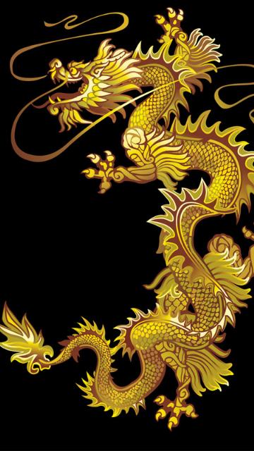 金運アップの金の龍の画像