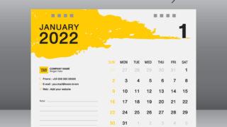 2022年のカレンダー無料ダウンロードサイトまとめ【月曜始まりやエクセル&シンプル&可愛いカレンダーも紹介!】